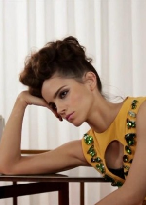 Emma Watson: Wonderland Magazine 2014 [Video Photoshoot] -08